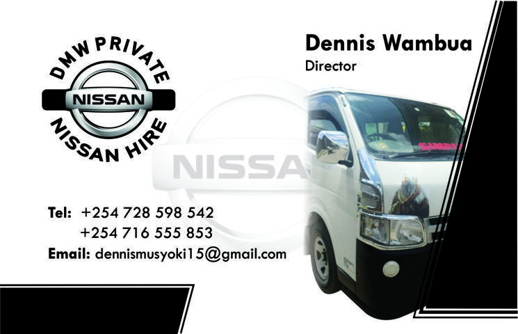 DMW car for hire